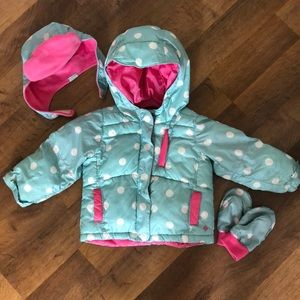 Columbia Winter Puffer Coat Combo
